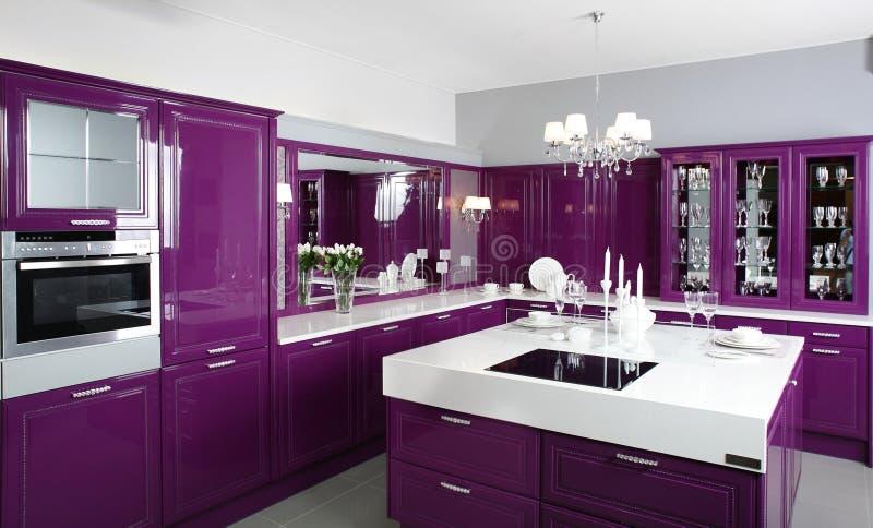 Download Clean White European Kitchen Stock Photo   Image Of House, Kitchen:  34488050