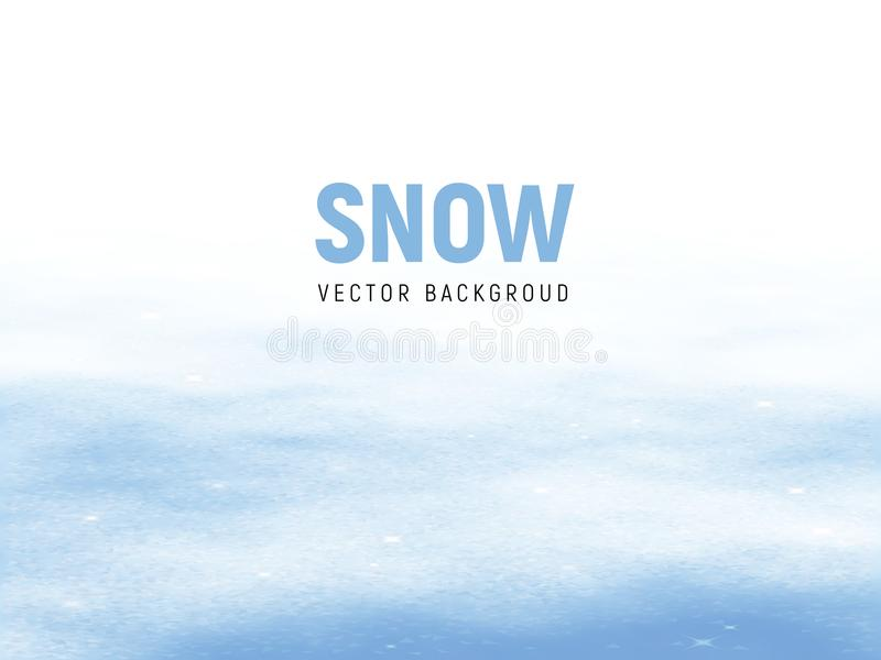 Clean winter background with snow drifts. Eps8. RGB royalty free illustration