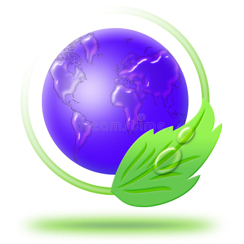 Clean world stock image