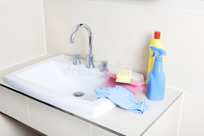 Cleaner i obmycia basen obrazy royalty free
