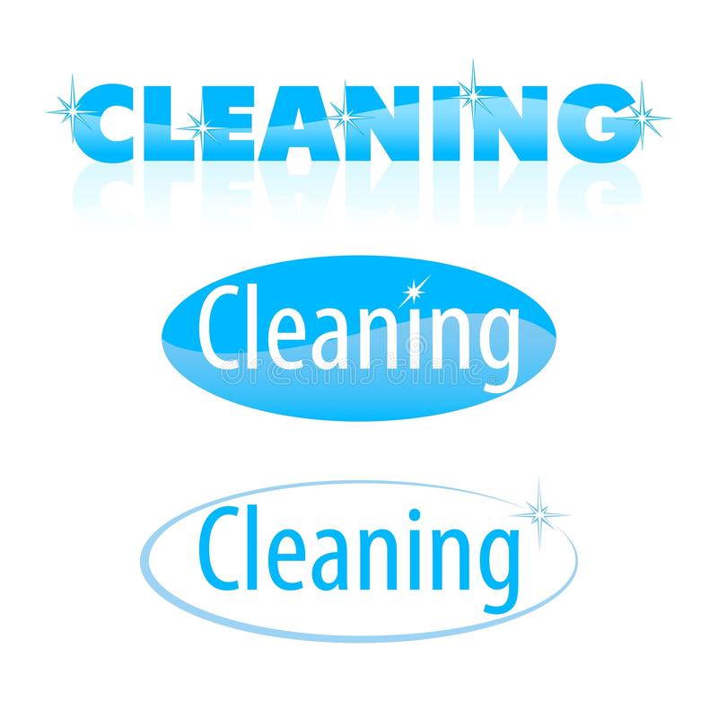 Cleaning stock illustration