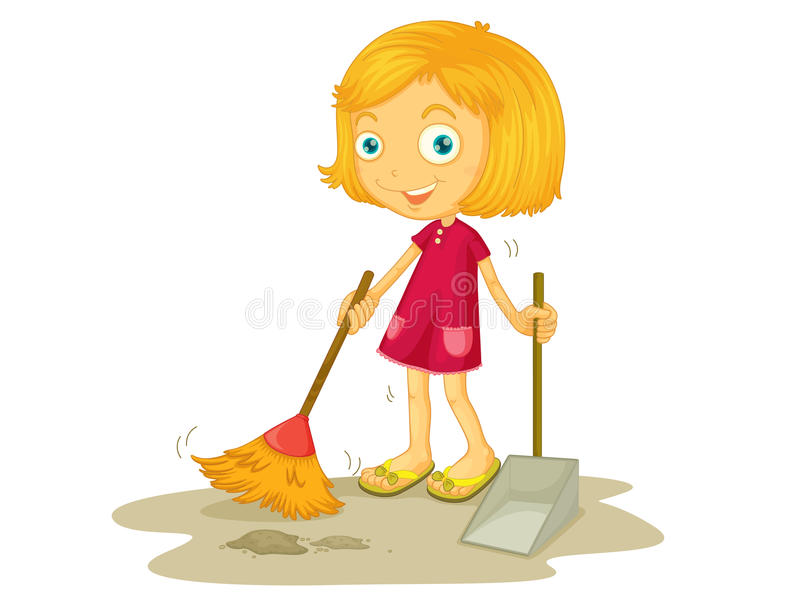 cleaning stock illustrationer