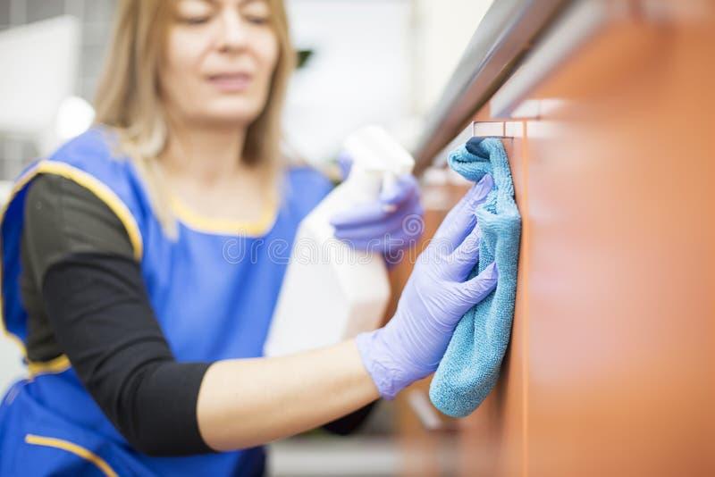 cleaning royaltyfri bild