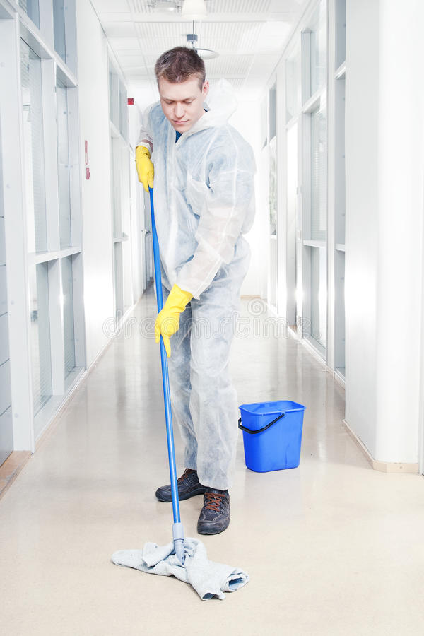Cleaning biuro zdjęcia stock