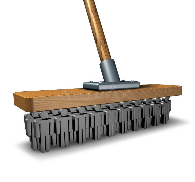 Cleaning biznes royalty ilustracja