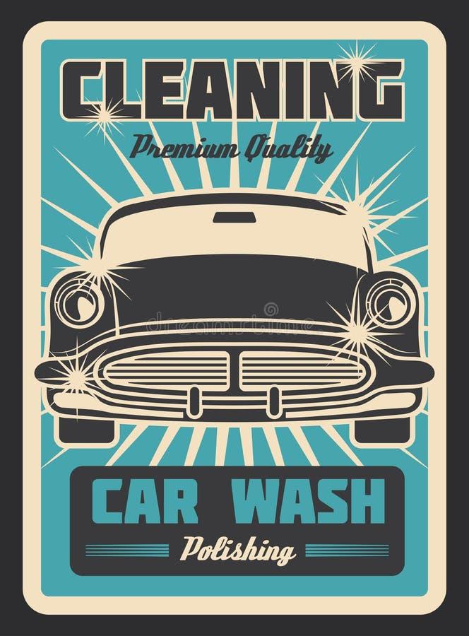 Vintage Sign - Advertising Poster - Classic Car - Garage ...