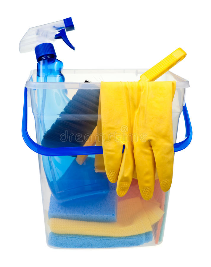 Cleaning concept royalty free stock images