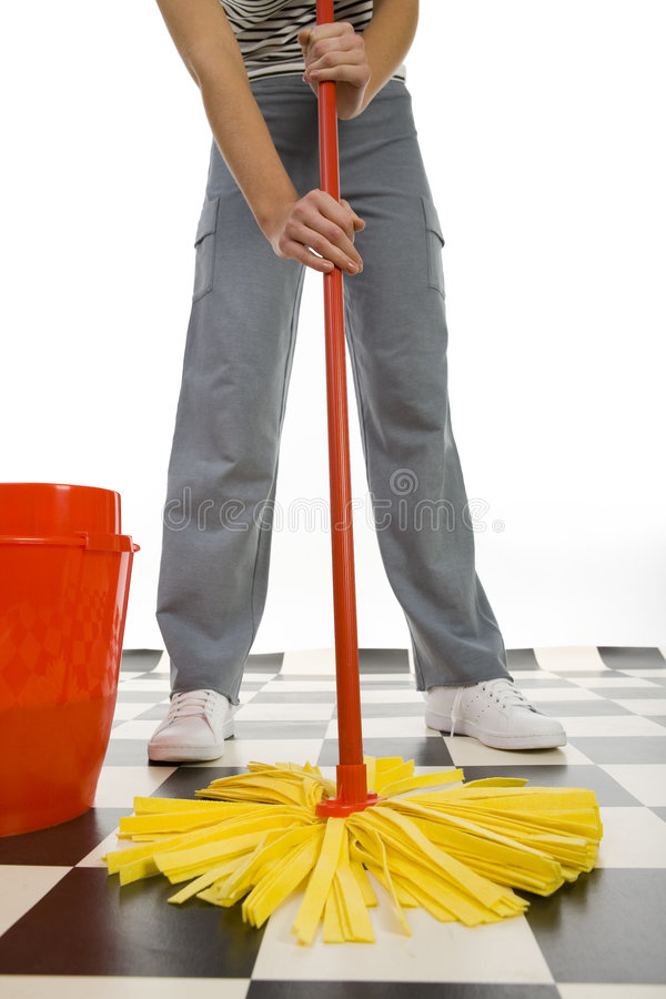 Free Cleaning Floor Royalty Free Stock Photography - 4494537
