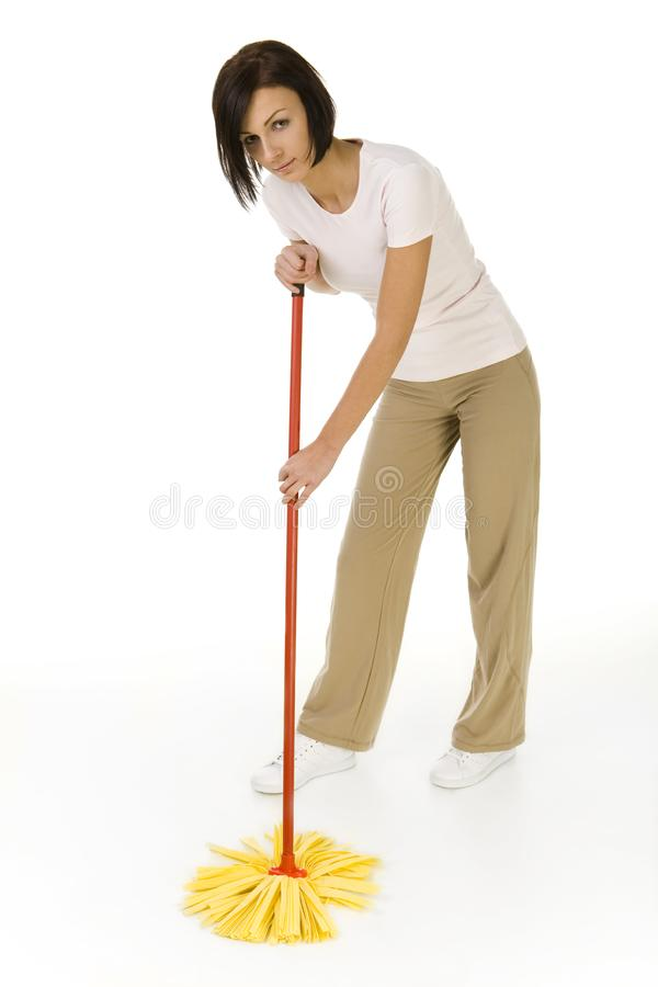 Download Cleaning of the floor stock photo. Image of camera, hold - 4494568