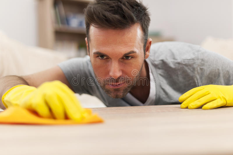 Cleaning home royalty free stock photo