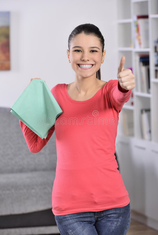 Download Cleaning The House Royalty Free Stock Photos - Image: 36994288