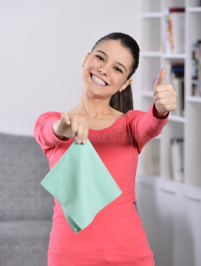 Download Cleaning the house stock photo. Image of happiness, caucasian - 36994578