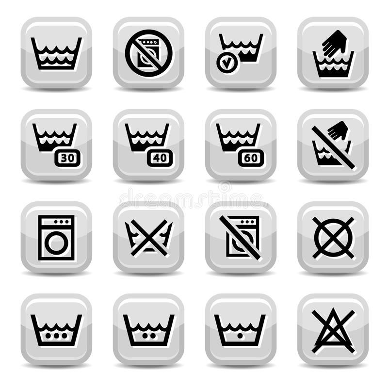 Download Cleaning icons stock vector. Image of housework, care - 29354806