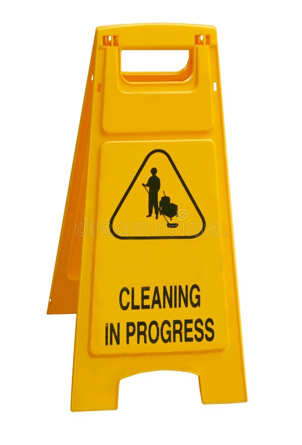 Free Cleaning In Progress Royalty Free Stock Images - 2580129