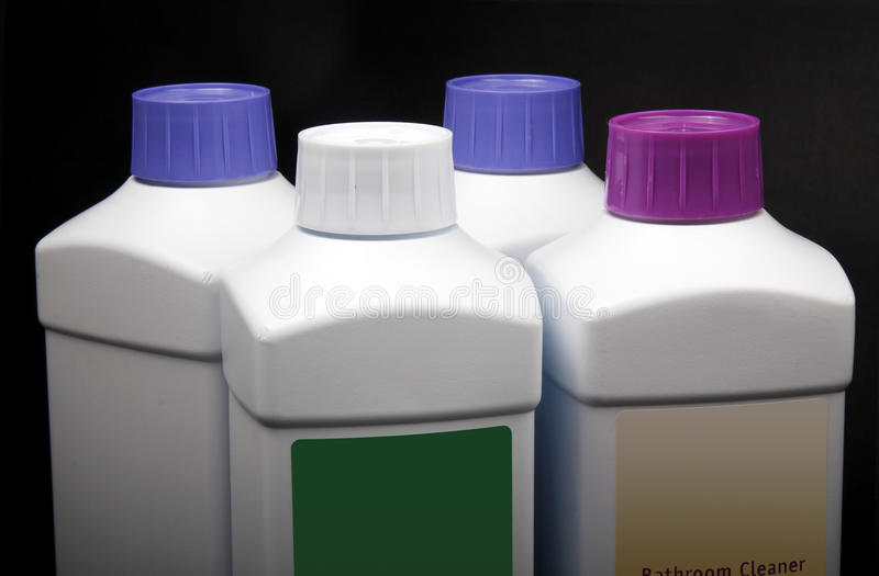 Cleaning products. royalty free stock photo