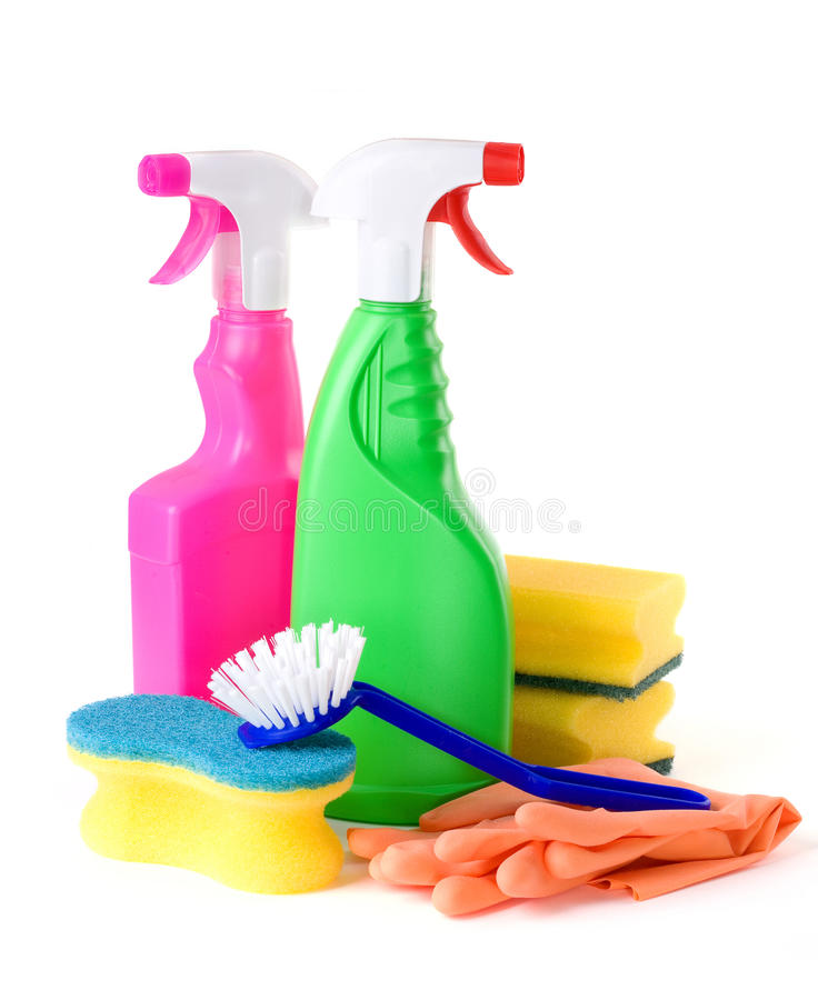 Download Cleaning products stock photo. Image of equipment, green - 19017860