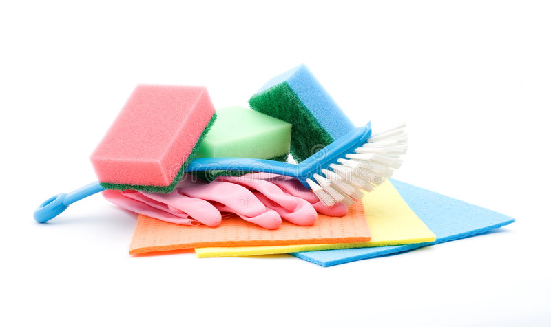 Download Cleaning products stock photo. Image of detergent, sponge - 6191896