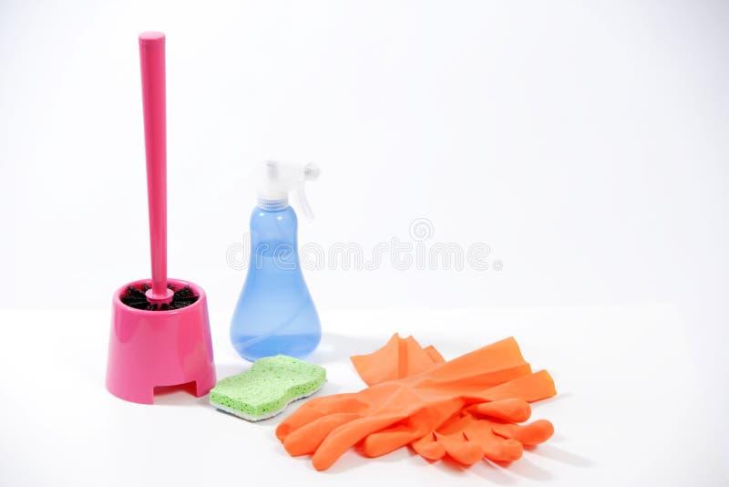 Cleaning produkty zdjęcie stock