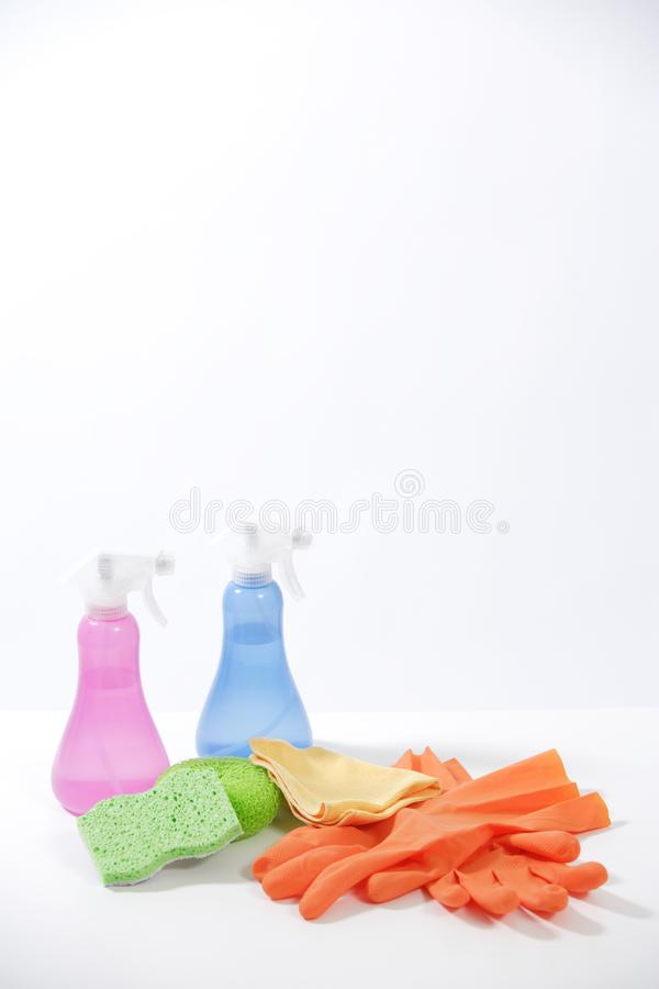 Cleaning produkty obraz royalty free