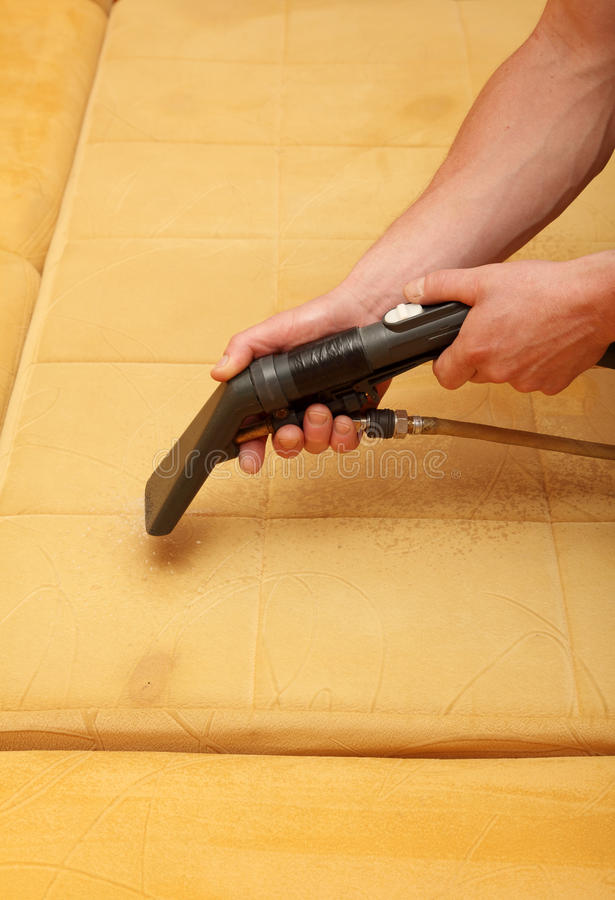 cleaning profesjonalista zdjęcie stock