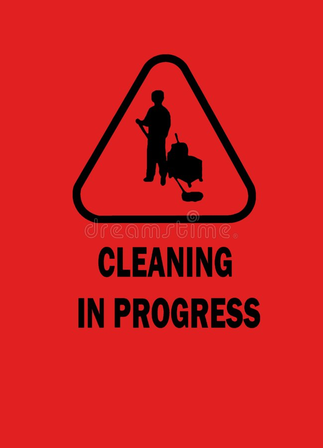 Download Cleaning in progress stock photo. Image of precaution - 3333570