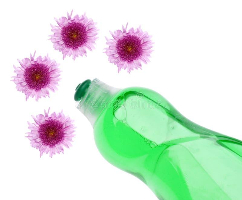 cleaning rabatowa zieleń obrazy stock