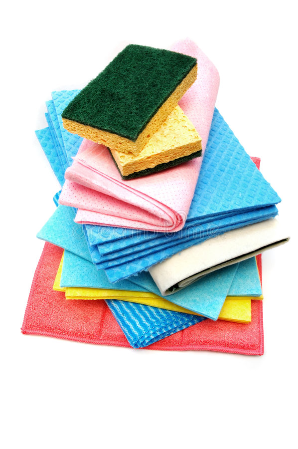 Download Cleaning rags and sponges stock image. Image of clean - 2976949