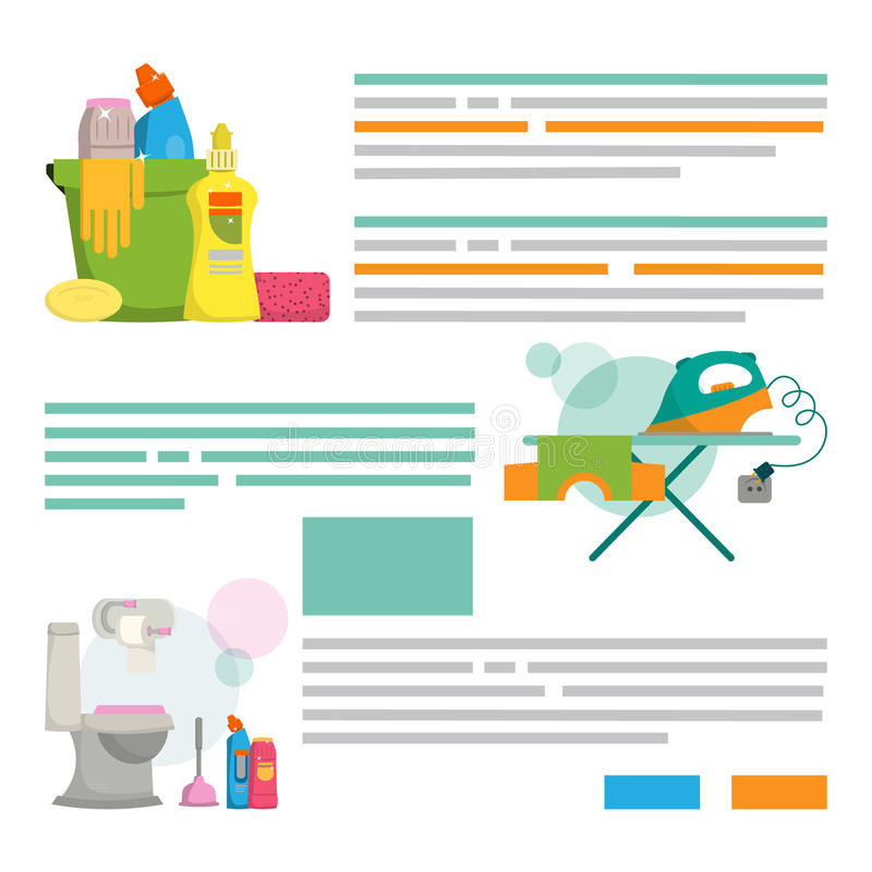 Cleaning Service. Design Template For Print Products Cleaning Se ...