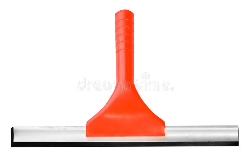 Cleaning service essencial tool - window cleaner stock photo