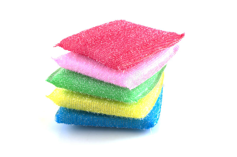Download Cleaning sponges stock photo. Image of close, detergent - 21558792