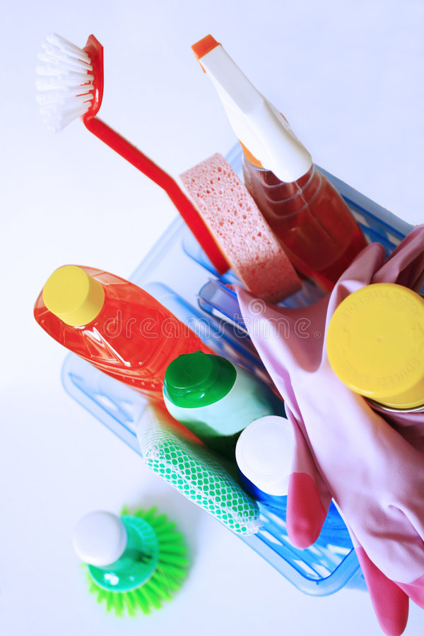 Download Cleaning Supplies Stock Photography - Image: 2213452