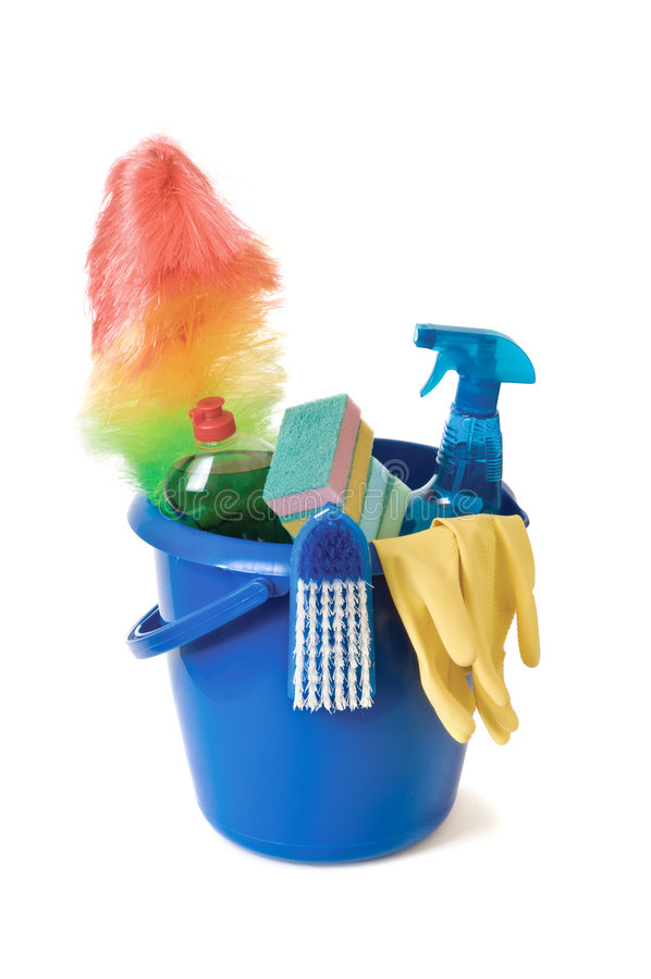 Download Cleaning supplies stock image. Image of hygiene, bottle - 5894099