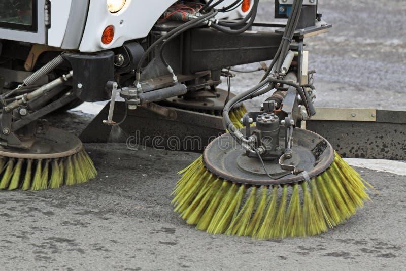 cleaning ulicy zdjęcie stock