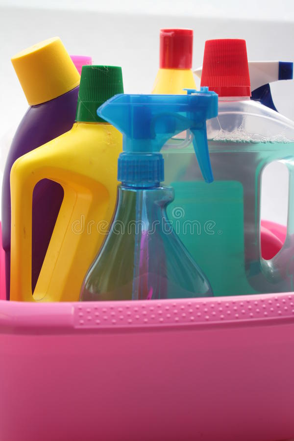 Cleaning utilities royalty free stock image