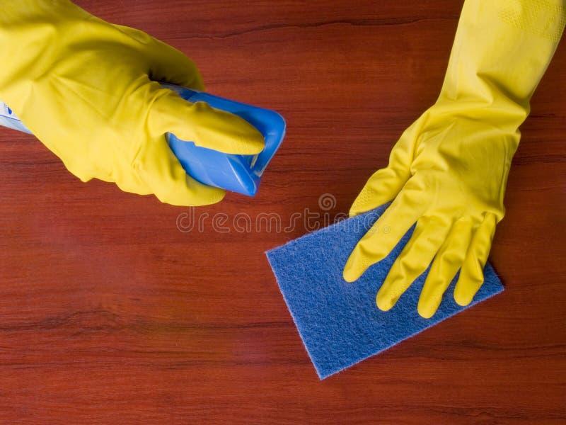 cleaningmöblemang arkivbilder