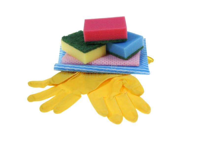 cleaningprodukter arkivbilder