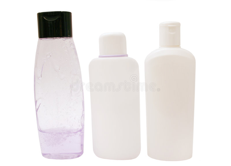 Cleansers stock photography