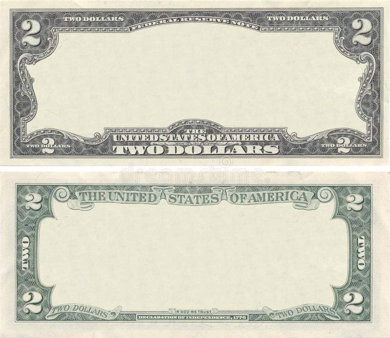 Download Clear 2 Dollar Banknote Pattern Stock Image - Image of business, credit: 21423363