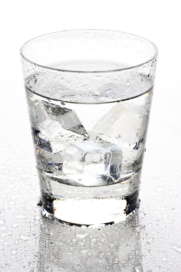 Clear beverage stock photo