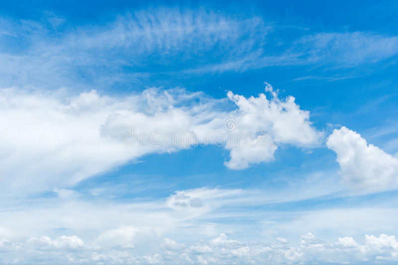 Clear blue sky background,clouds with background. stock photography