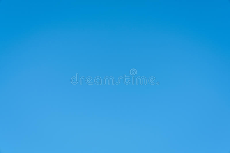 Clear blue sky background royalty free stock photo