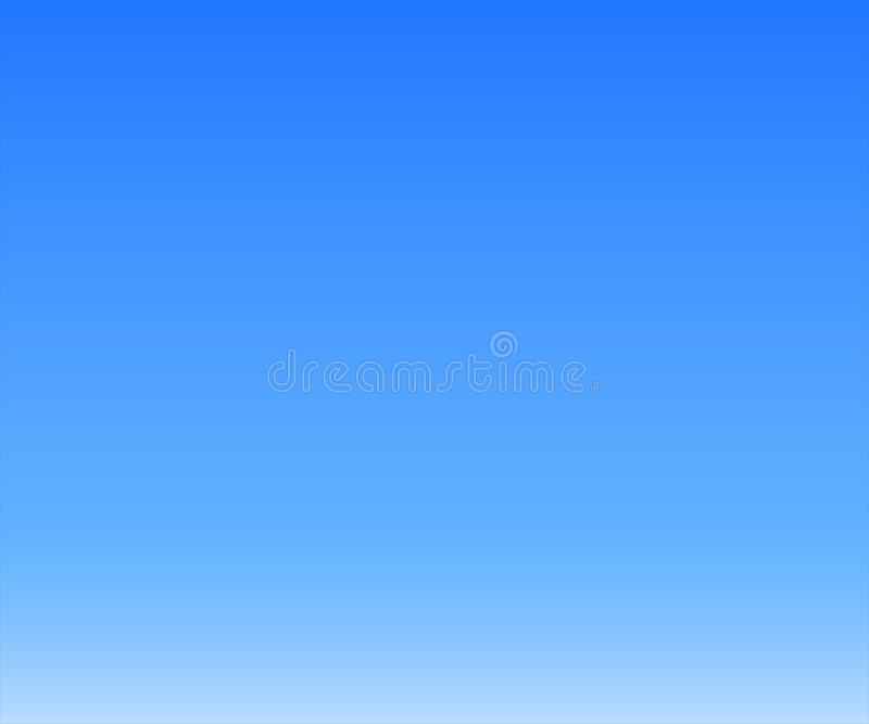 Clear blue sky. Clear blue cloudless sky vector texture / background vector illustration