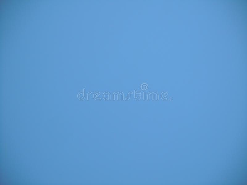 Clear blue sky with no cloud vector illustration