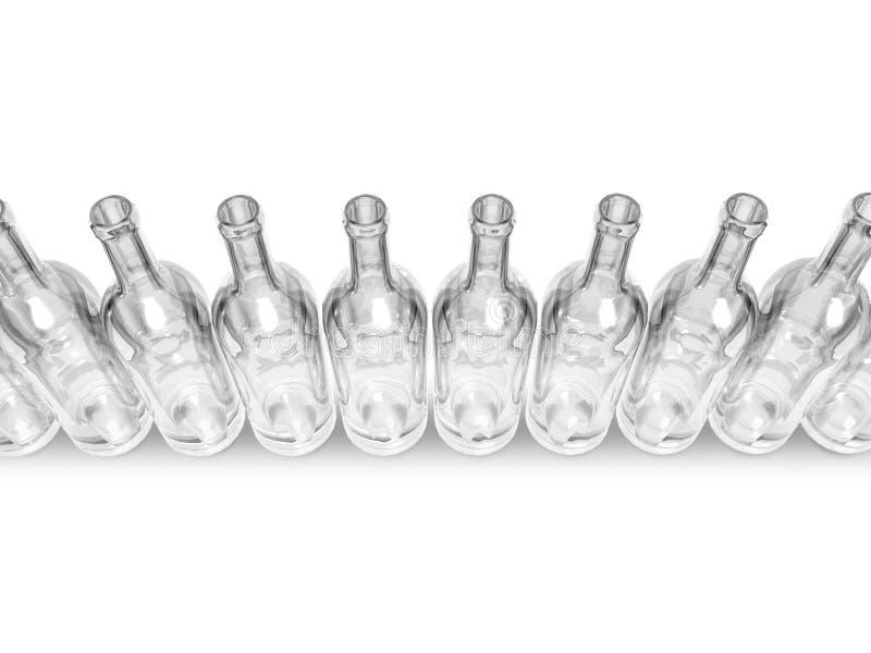 Download Clear bottles stock illustration. Illustration of concept - 6822083