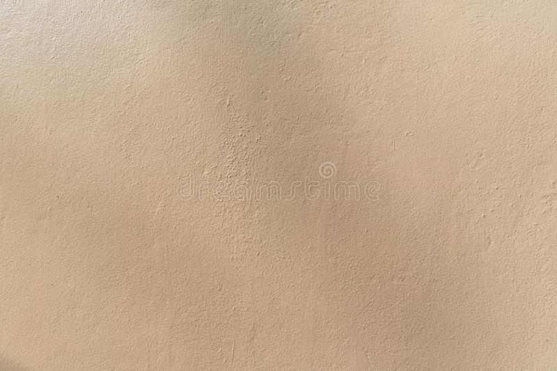Clear brown wall background. Seamless and clean brown painted wall texture background. royalty free stock images