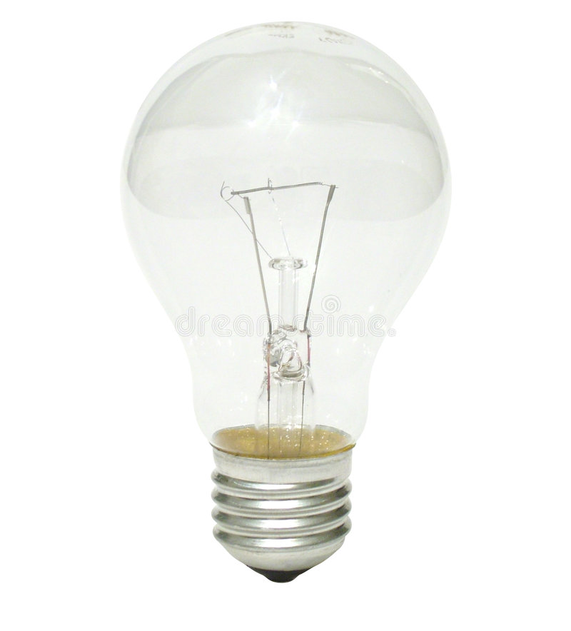 Clear bulb stock images
