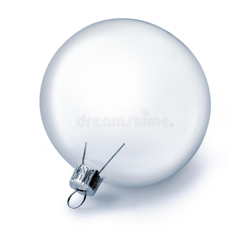 Download Clear Glass Christmas Ornament Stock Photo - Image: 26319582