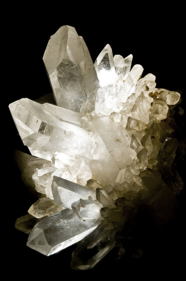 Clear cristal royalty free stock image