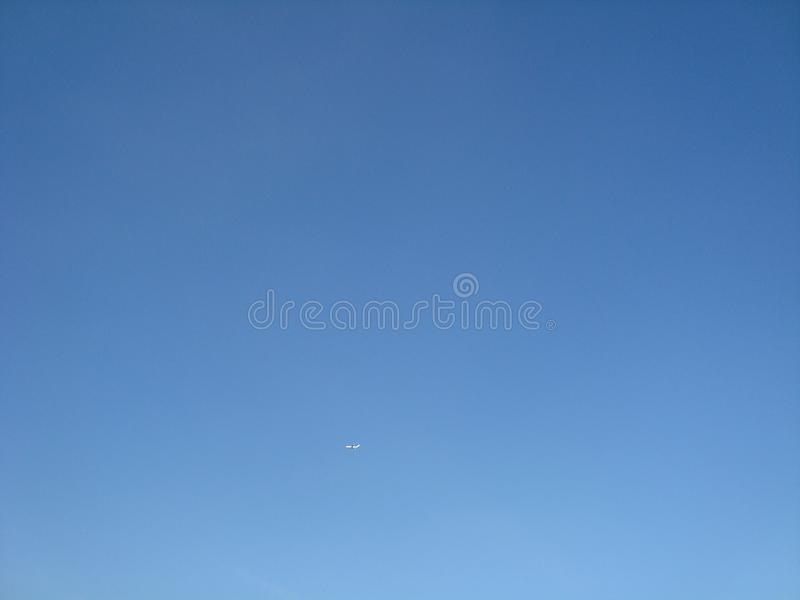 Clear day Sky Blue Wide sky royalty free stock photo