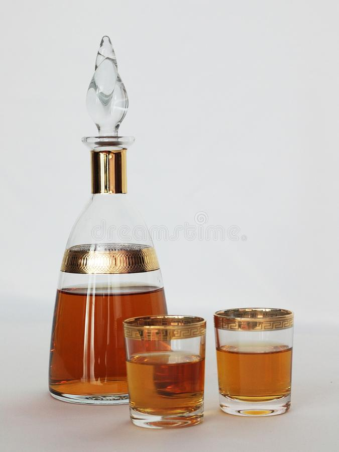 Clear Drinking Glass royalty free stock photo